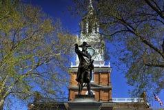 L'indépendance Hall à Philadelphie photographie stock libre de droits
