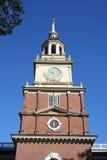 L'indépendance Hall de Philadelphie Image libre de droits