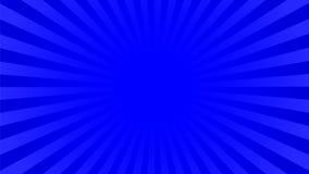 L'indaco luminoso rays il fondo Fotografia Stock Libera da Diritti