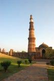 l'Inde, Delhi - Qutab Minar Photo libre de droits