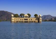 l'Inde jaipur Palais Jal Mahal de l'eau photographie stock libre de droits