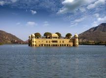 l'Inde jaipur Palais Jal Mahal de l'eau photo stock