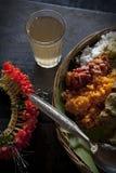 l'Inde - le Goa - déjeuner Image libre de droits
