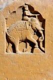 l'Inde, Ràjasthàn, Jaisalmer : petite statue photo libre de droits