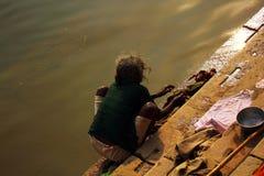 l'Inde Varanasi Image libre de droits