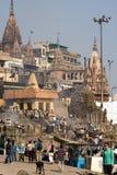 l'Inde Varanasi Photos stock