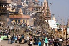 l'Inde Varanasi Image stock