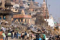 l'Inde Varanasi Photographie stock libre de droits
