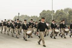 L'India è pronta a celebrarlo è il sessantasettesimo giorno della Repubblica il 26 gennaio Fotografie Stock Libere da Diritti