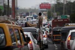 L'India ammucchiata Immagini Stock