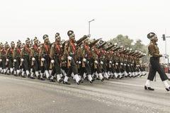 L'India celebra il sessantasettesimo giorno della Repubblica il 26 gennaio Immagine Stock Libera da Diritti