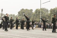 L'India celebra il sessantasettesimo giorno della Repubblica il 26 gennaio Immagini Stock