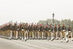 L'India celebra il sessantasettesimo giorno della Repubblica il 26 gennaio Fotografia Stock