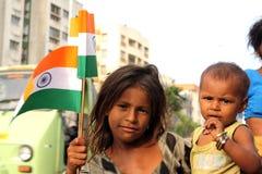 L'India celebra l'indipendenza Fotografia Stock Libera da Diritti