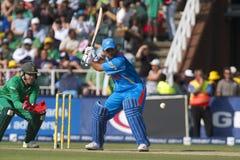 L'India contro il SA Immagine Stock Libera da Diritti
