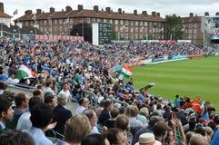 L'India contro l'Inghilterra a signori Fotografie Stock