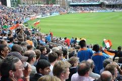 L'India contro l'Inghilterra a signori Immagine Stock