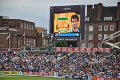 L'India contro l'Inghilterra a signori Fotografia Stock