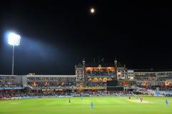 L'India contro l'Inghilterra a signori Immagine Stock Libera da Diritti