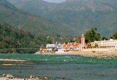 L'India, gruppo vicino a Rishikesh. Fotografia Stock Libera da Diritti