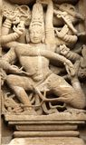 L'India, Kanchipuram: Tempiale di Kailashanatha Fotografia Stock