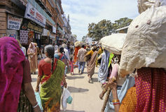 L'India Kumbh Mela Fotografia Stock