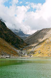 L'India, lago Gandhi Sarovar. Fotografia Stock Libera da Diritti