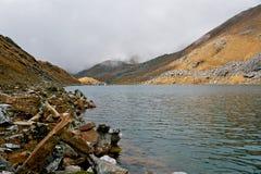 L'India, lago Vasuki Tal. Immagine Stock