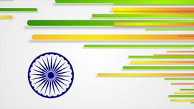 L'India Repubblica giorno animazione del video dell'estratto del 26 gennaio