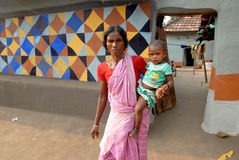 L'India rurale Immagine Stock