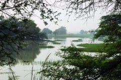 L'India Sultanpur Fotografia Stock Libera da Diritti