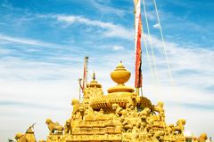 L'India Tempio acient Jain fotografie stock libere da diritti