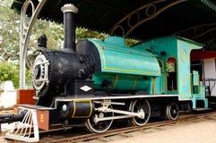 L'India: una di più vecchie locomotive correnti Fotografia Stock