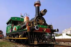 L'India: vecchio treno del vapore fotografia stock libera da diritti