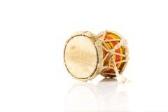L'indiano tamburella lo strumento di damaru, India Fotografia Stock Libera da Diritti