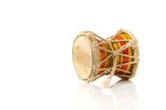 L'indiano tamburella lo strumento di damaru usato da Lord Shiva, India Immagini Stock Libere da Diritti