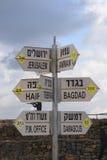 L'indicateur de distance Image stock