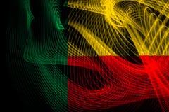 l'indicateur national du Bénin illustration de vecteur