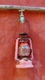 L'indicatore luminoso della candela Fotografia Stock Libera da Diritti