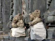 l'Indonésie, Bali, sculpture en Balijsky Induistsky Image libre de droits