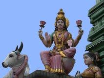 l'Indonésie, Bali, sculpture en Balijsky Induistsky Photographie stock libre de droits