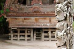 L'Indonésie ethnique, Sumatra du Nord Image stock