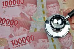 L'Indonésie médicale et l'assurance médicale maladie photo stock