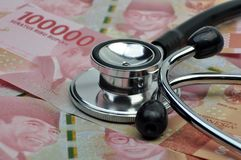 L'Indonésie médicale et l'assurance médicale maladie photographie stock libre de droits