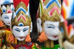 L'Indonesia, Bali, burattino tradizionale Fotografia Stock
