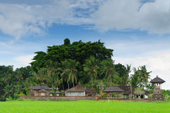 L'Indonesia, Bali, villaggio tradizionale Immagine Stock