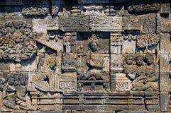 L'Indonesia, Java, Borobudur: Mendut di Candi Immagini Stock