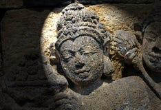 L'Indonesia, Java, Borobudur: Tempiale Immagine Stock