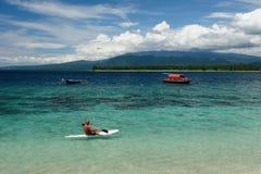 L'Indonesia, Lombok. Isole di Gili immagini stock libere da diritti