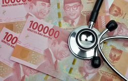 L'Indonesia medica e assicurazione malattia fotografie stock
